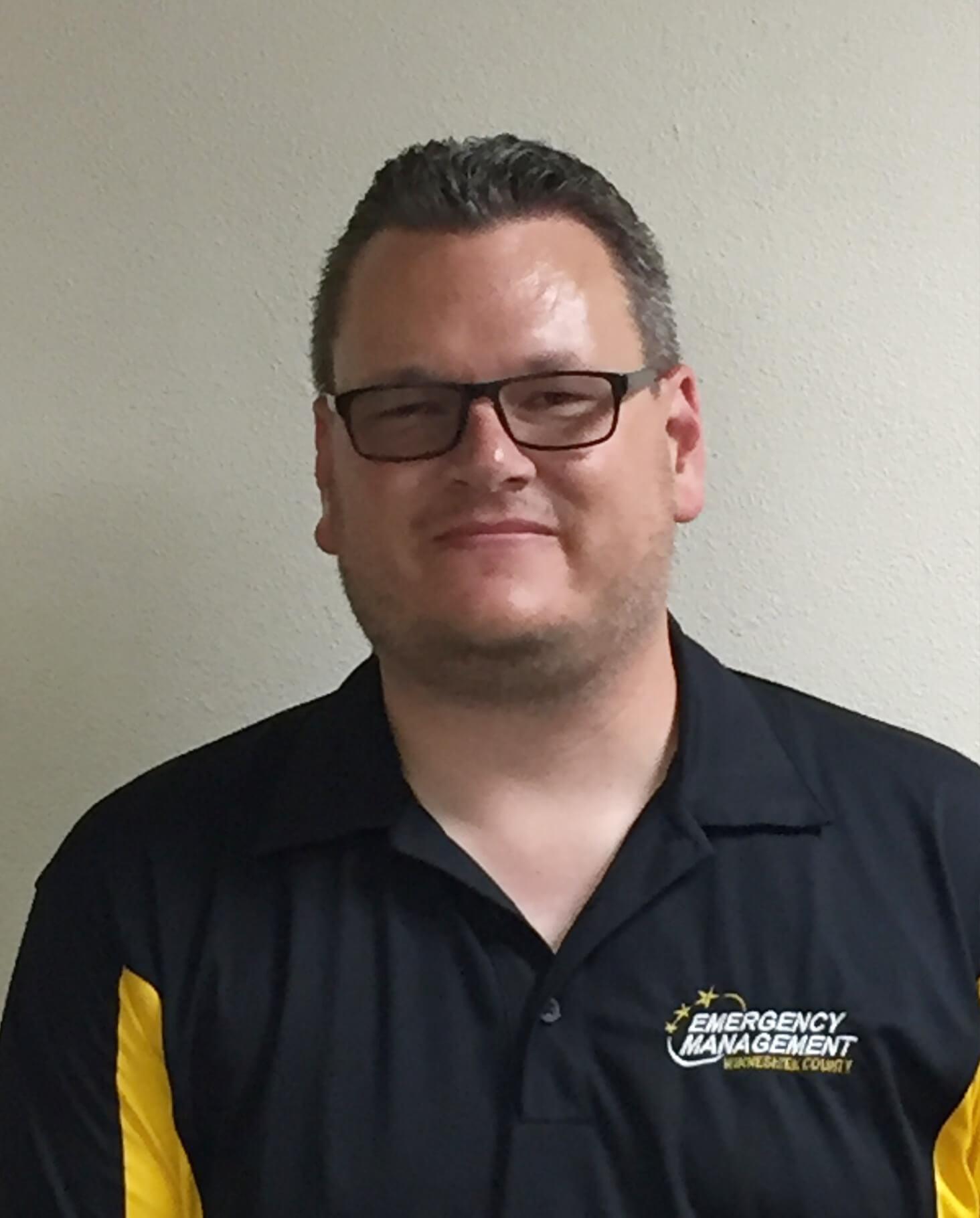 Sean Snyder, Emergency Management Coordinator