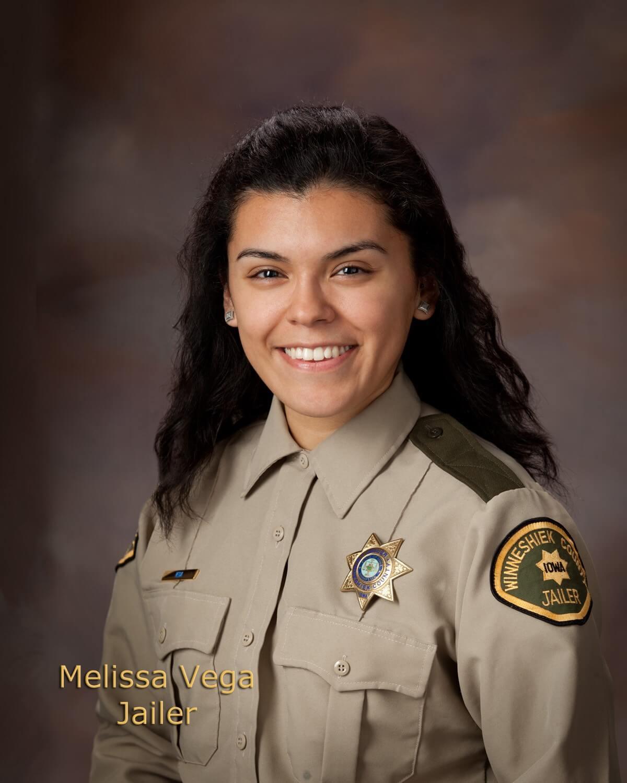 Melissa Vega, Office Deputy/Jailer