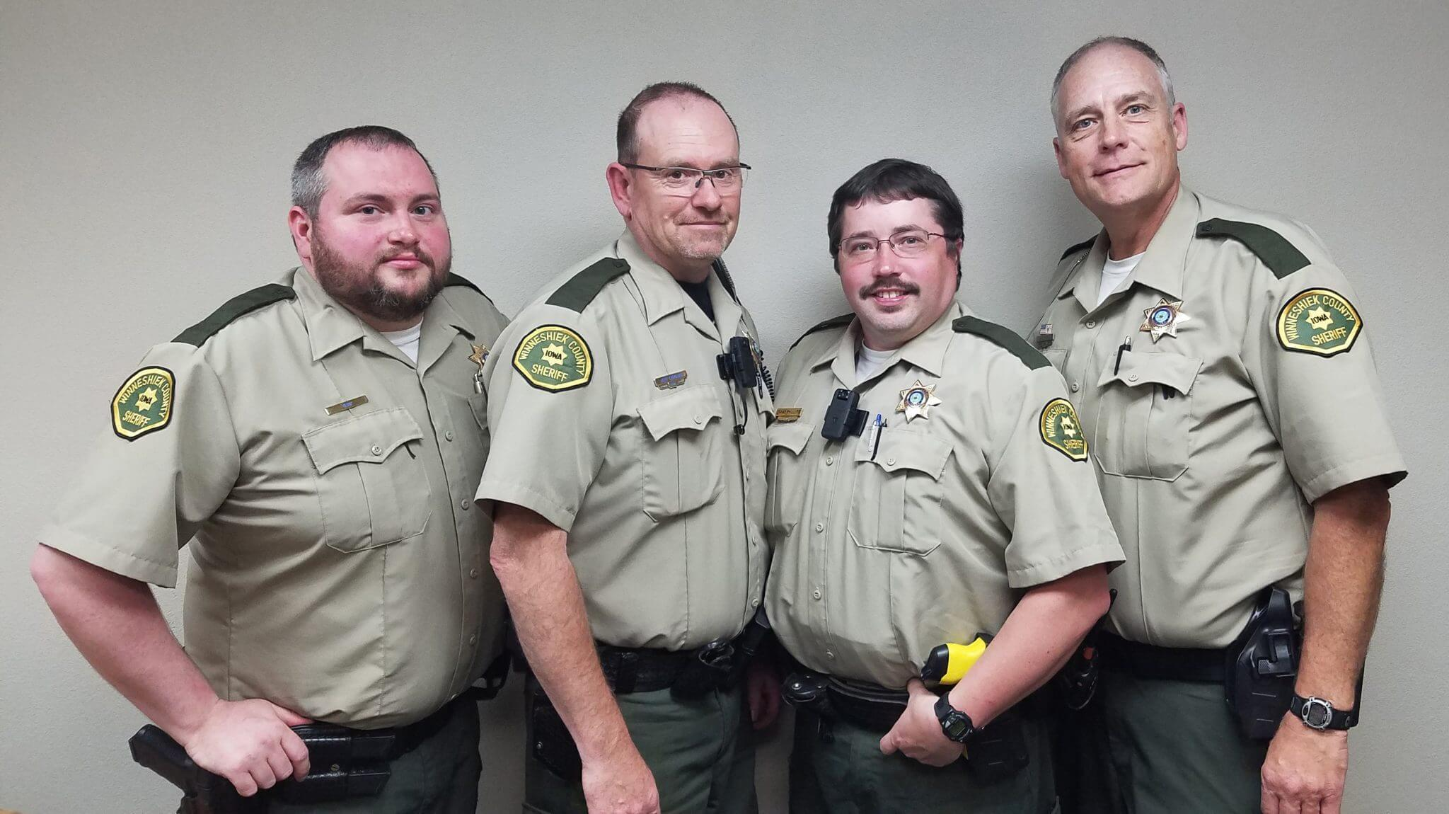 Reserve Deputies: Ian Kemp, Jeff Carolan, Isaac Phillips & Gregg Rude