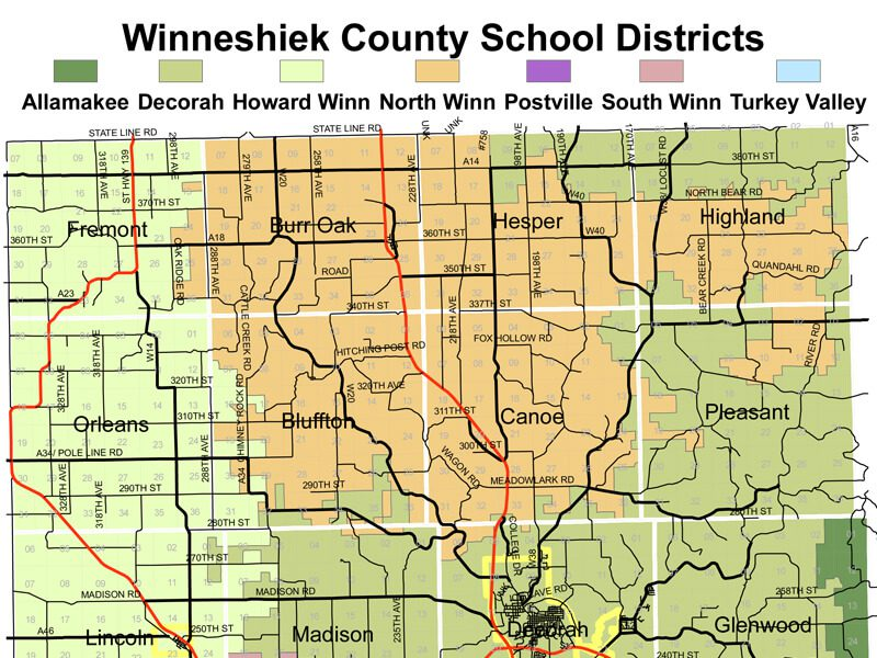 School Disctricts Map