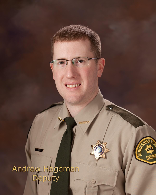 Andrew Hageman, Deputy Sheriff