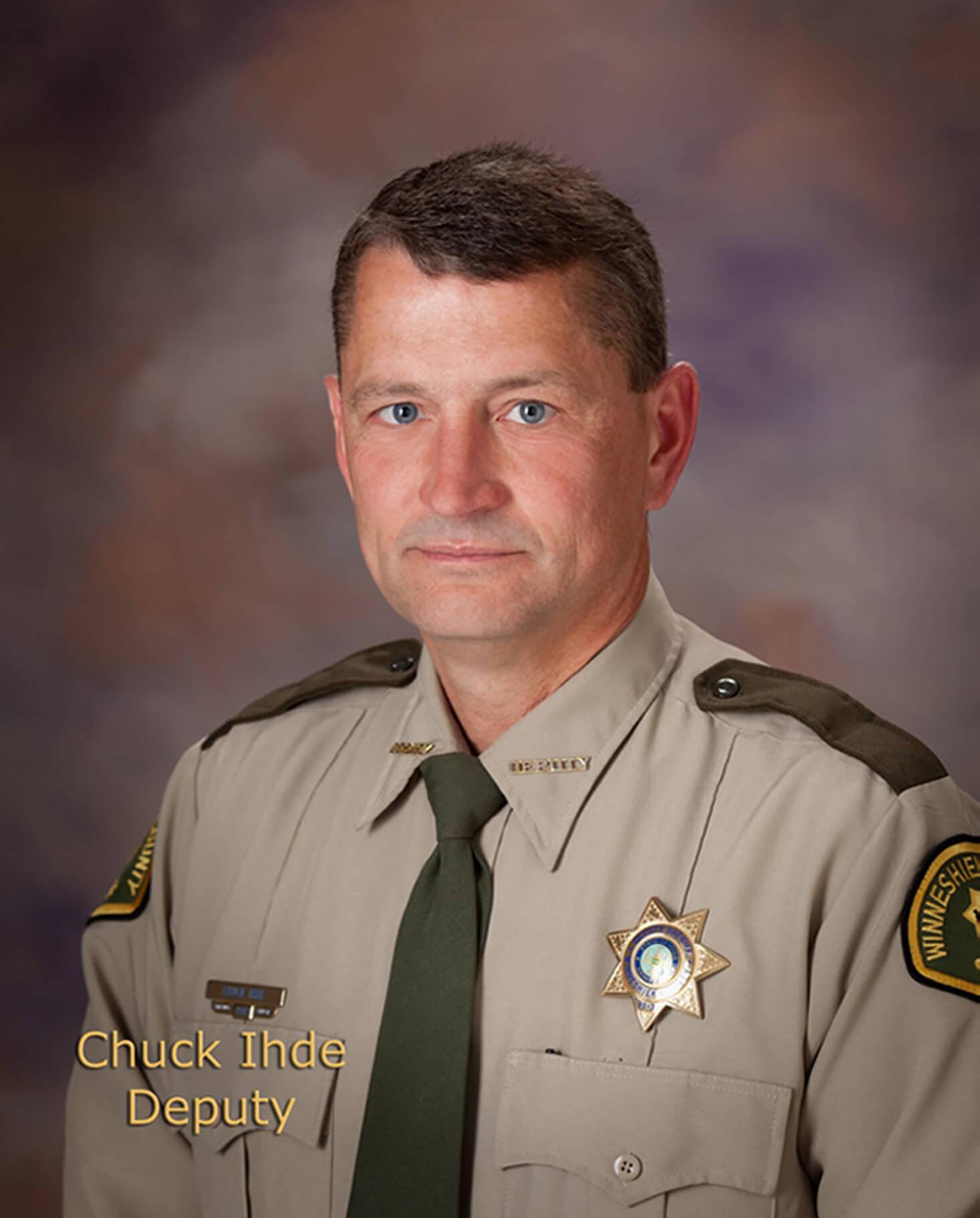 Chuck Ihde, Deputy Sheriff