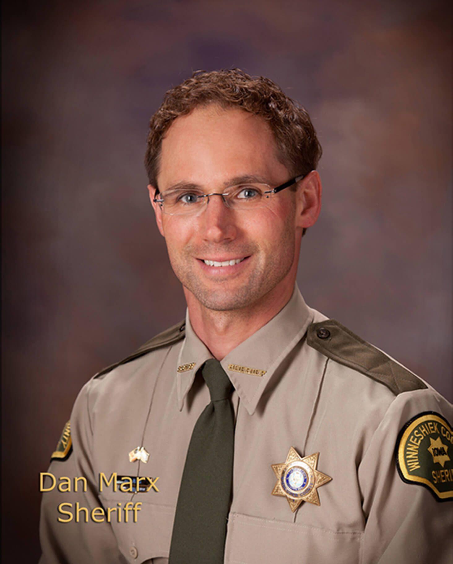 Dan Marx, Sheriff