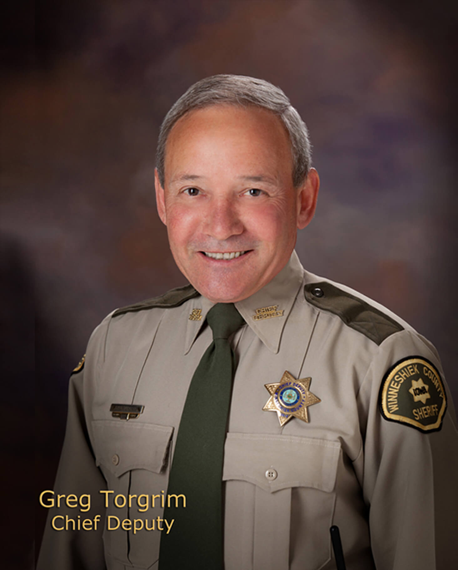 Greg Torgrim, Chief Deputy