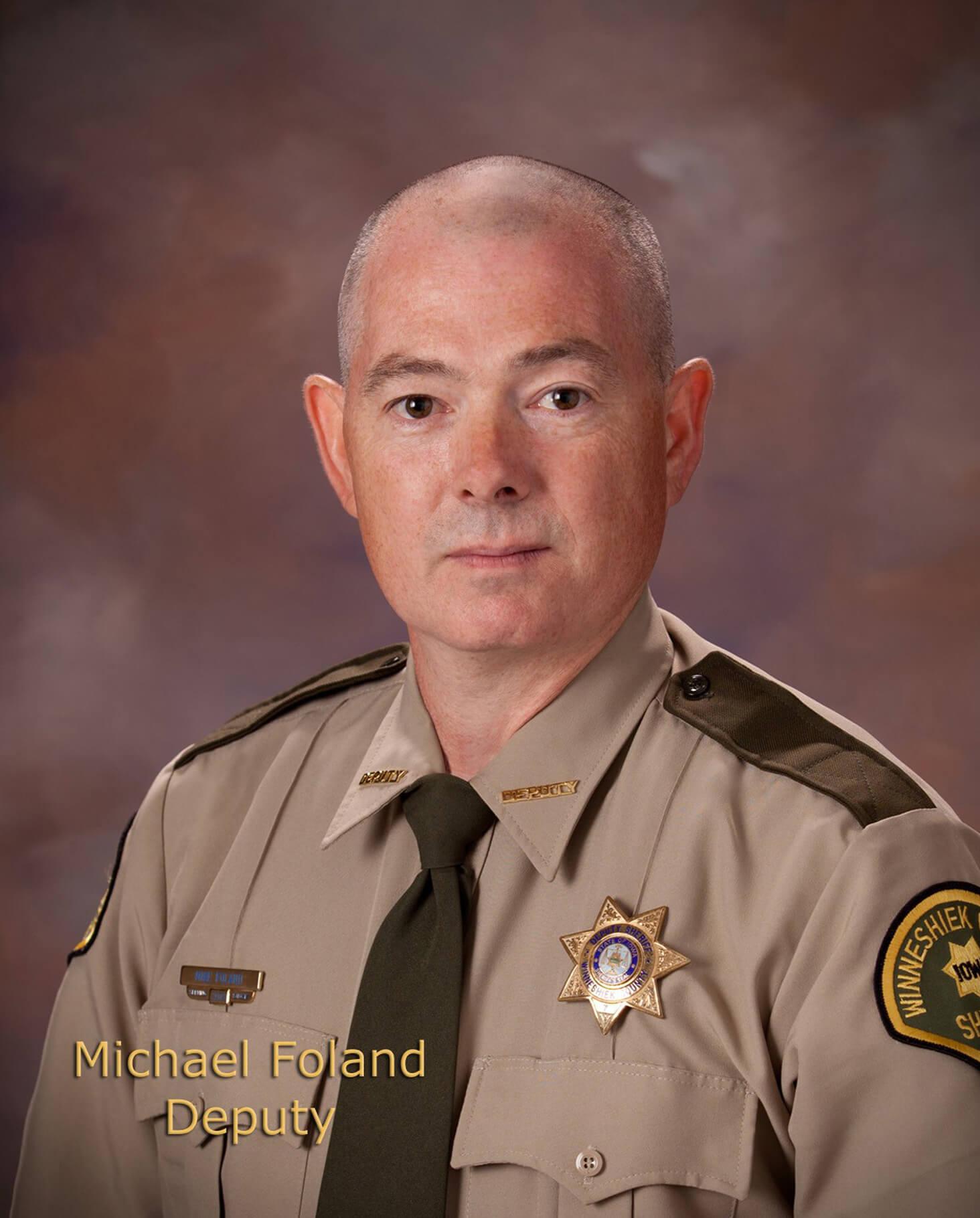 Mike Foland, Deputy Sheriff/Detective