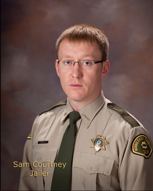 Sam Courtney, Assistant Jail Administrator