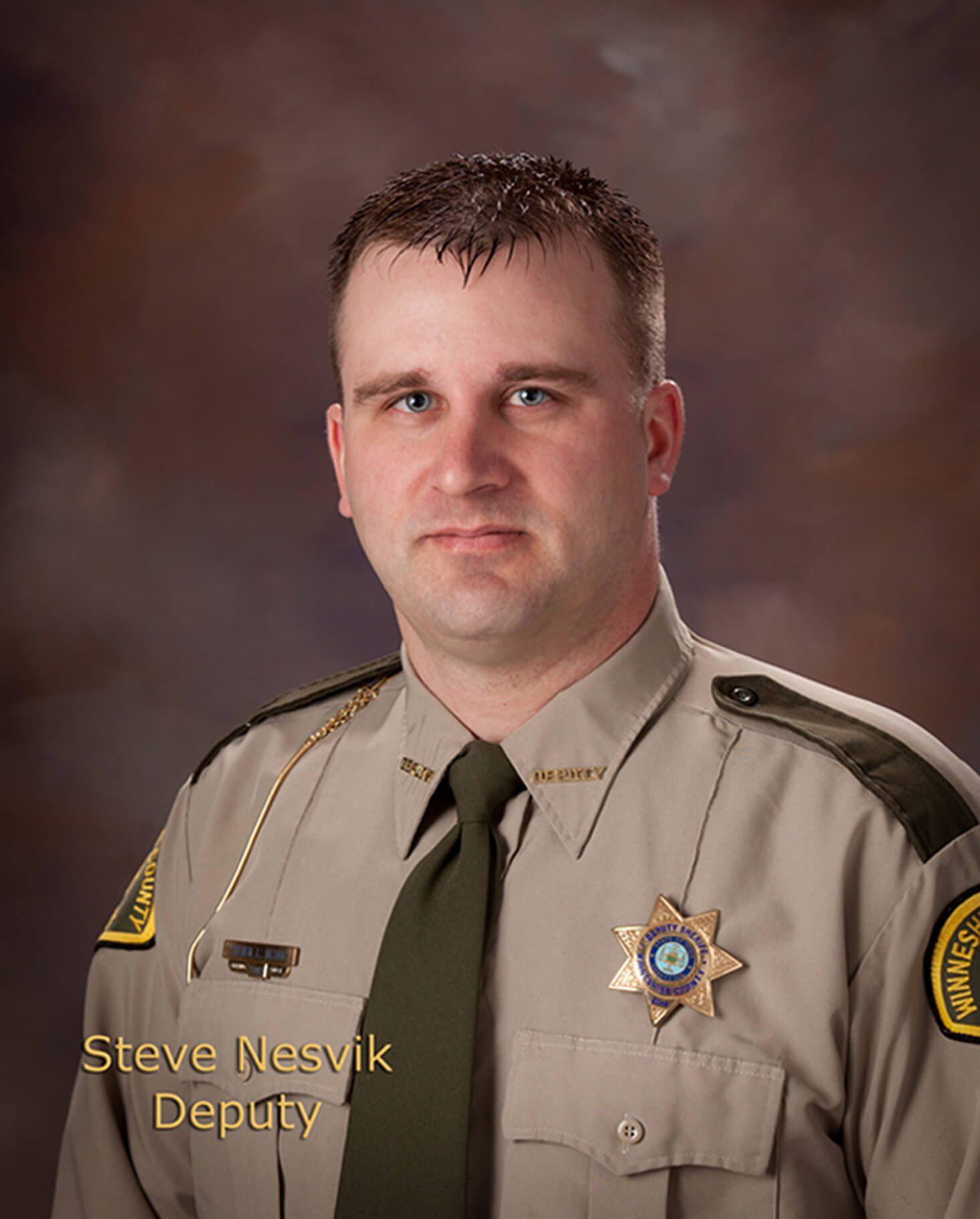 Steve Nesvik, Lieutenant/Second Deputy & K9 Deputy Sheriff