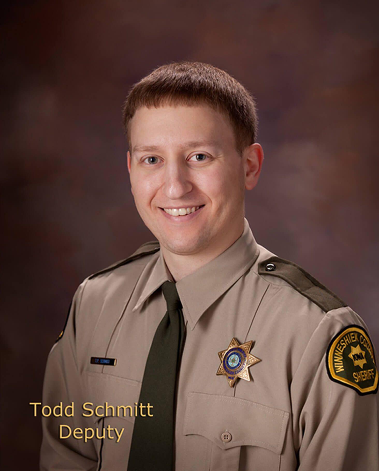 Todd Schmitt, Deputy Sheriff