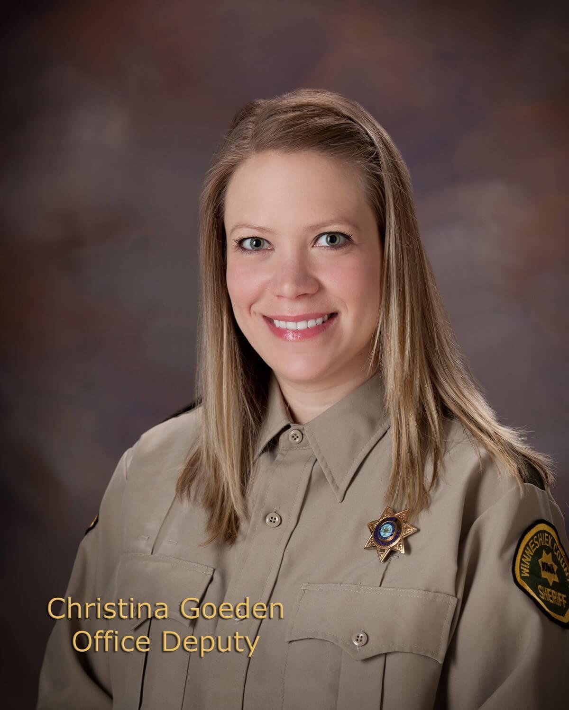 Christina Goeden, Office Deputy