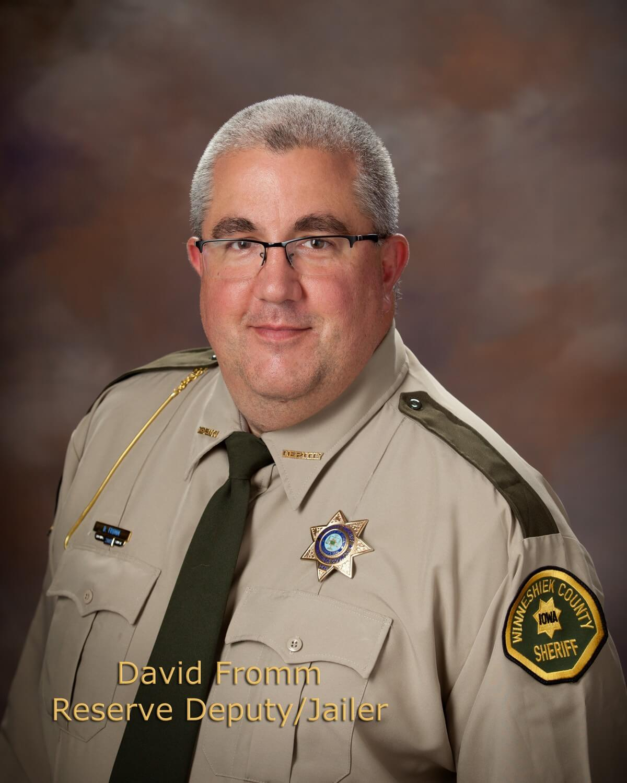 David Fromm, Reserve Deputy