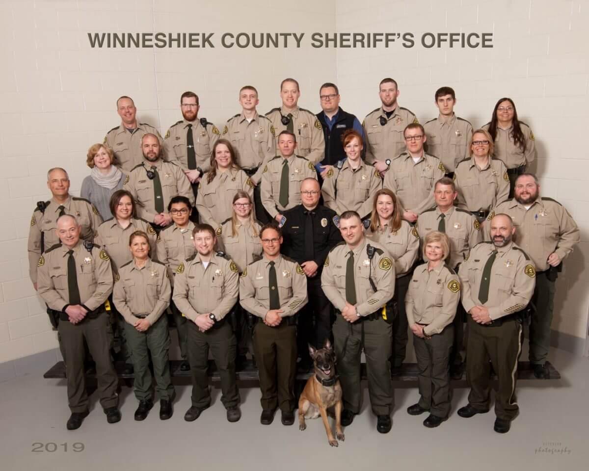 inneshiek county sheriffs officials - HD1200×960